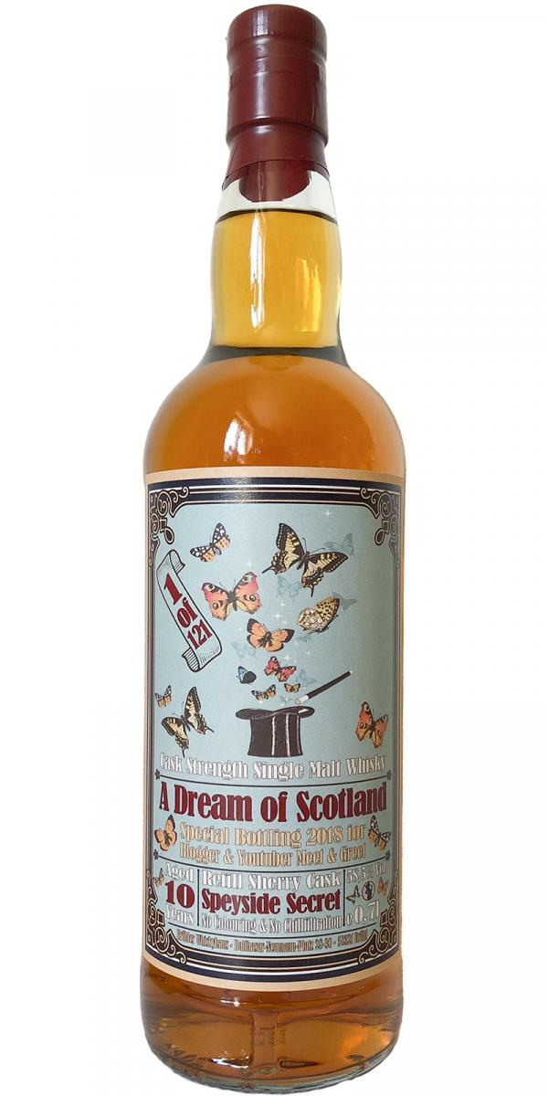 A Dream of Scotland 10-year-old BW