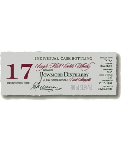 Bowmore 1989 DR