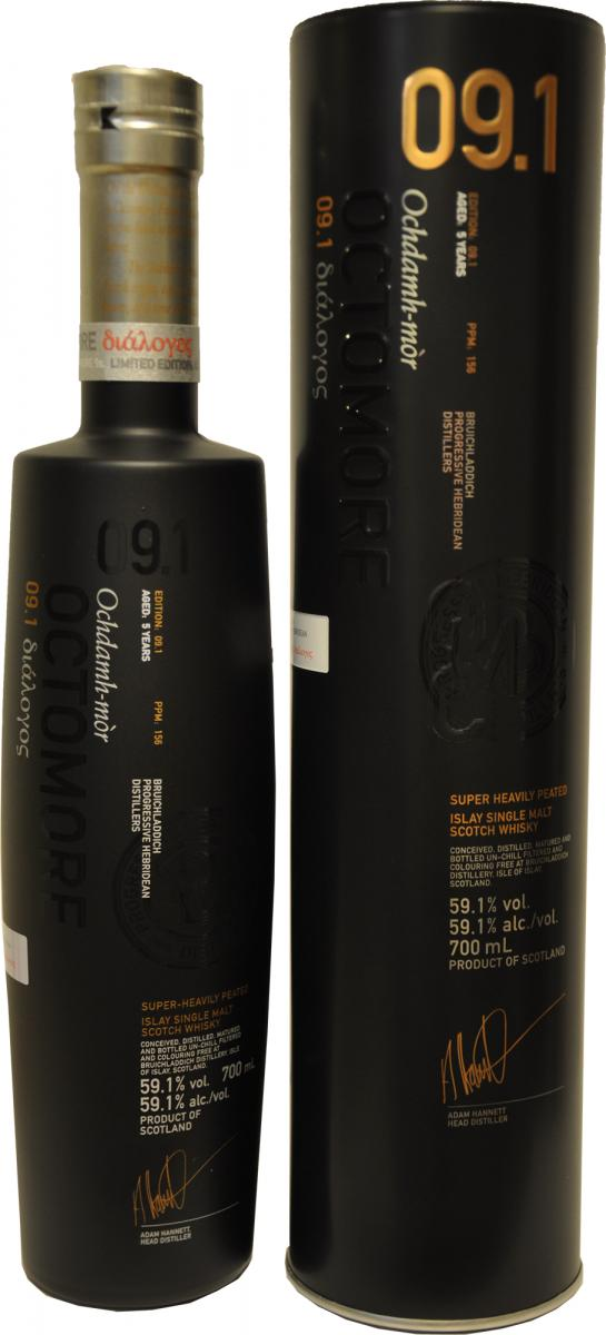 Octomore Edition 09.1 διάλογος / 156 PPM