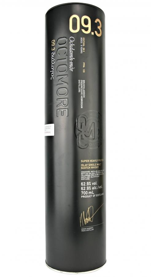 Octomore Edition 09.3 διάλογος / 133 PPM
