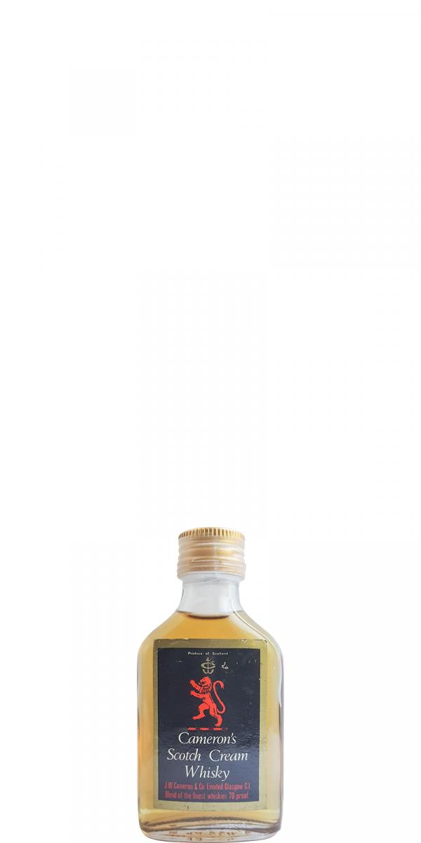 Cameron's Scotch Cream Whisky