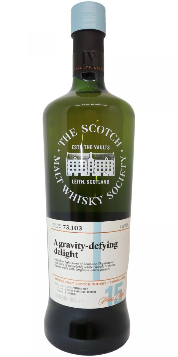 Aultmore 2002 SMWS 73.103