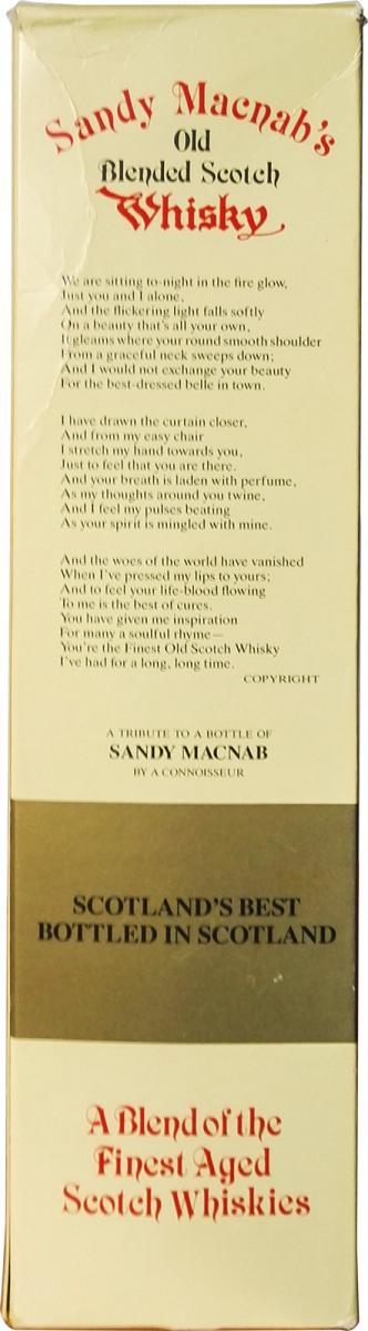 Sandy Macnab's 05-year-old