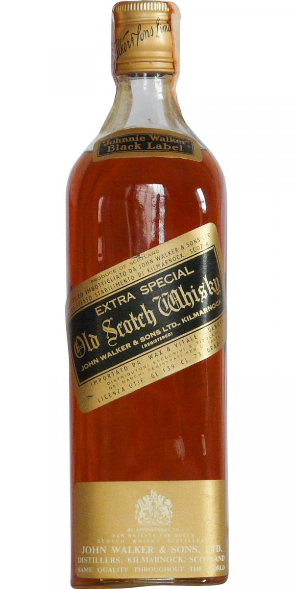 Johnnie Walker Extra Special Old Scotch Whisky