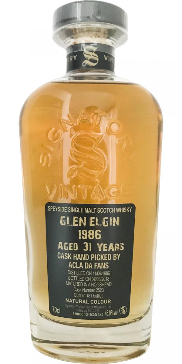 Glen Elgin 1986 SV