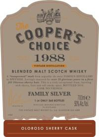 Blended Malt Scotch Whisky 1988 VM