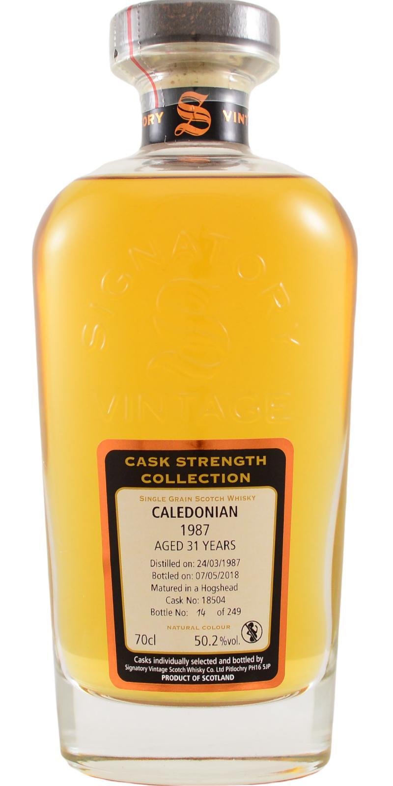 Caledonian 1987 SV