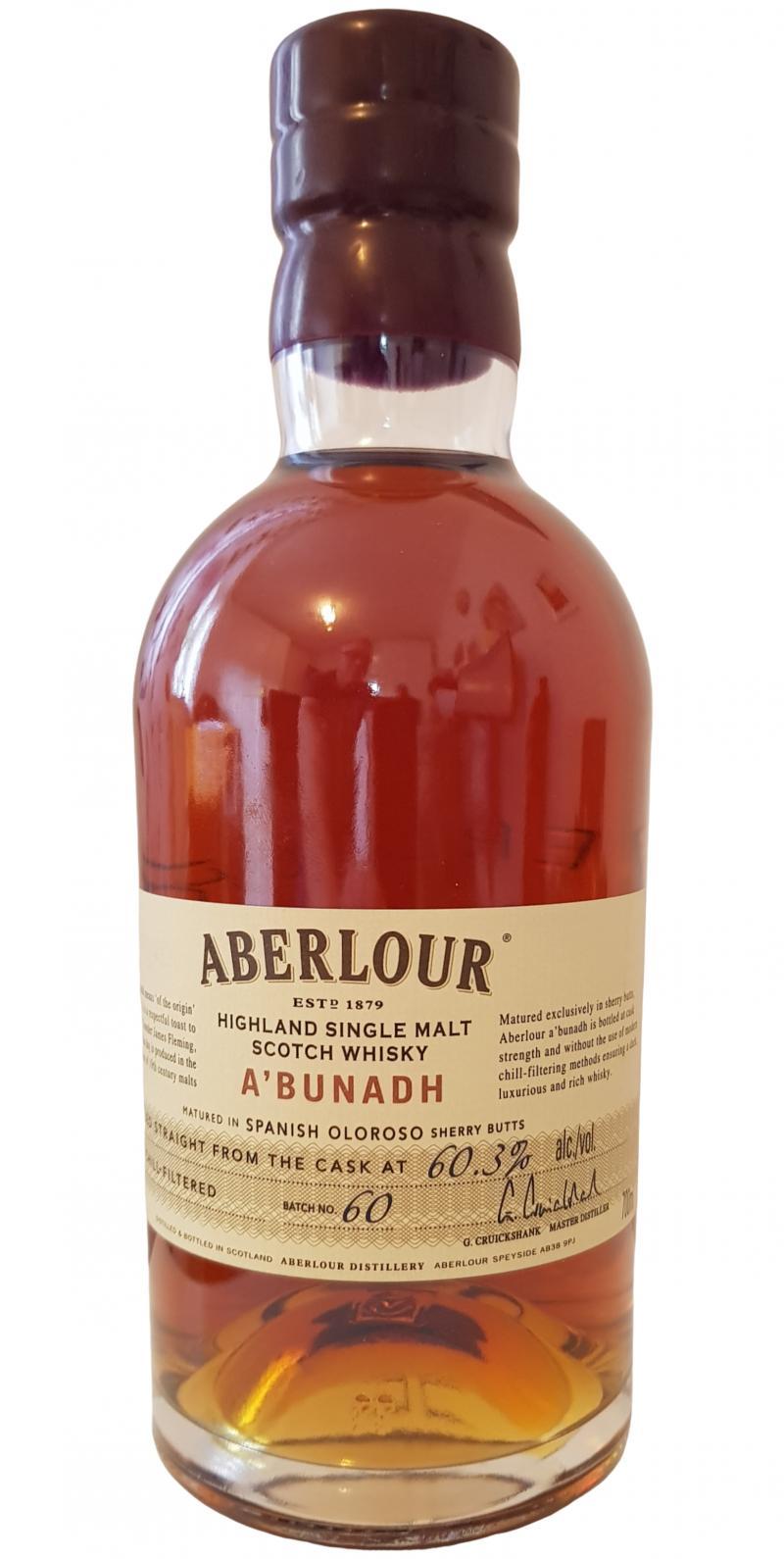 Aberlour A'bunadh batch #60