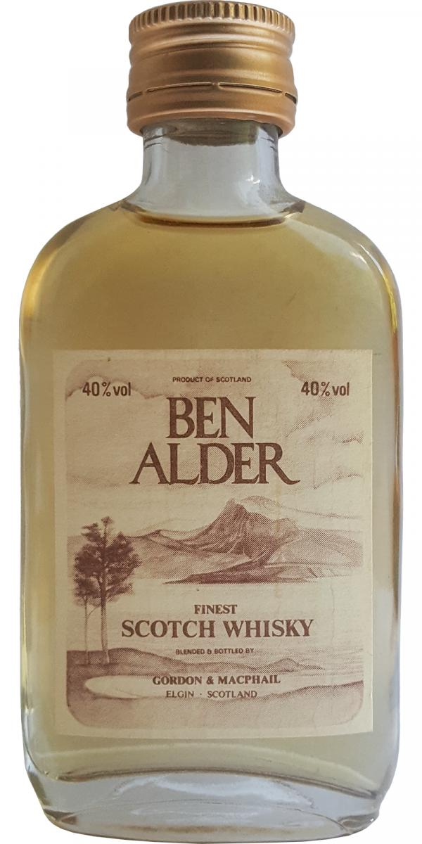 Ben Alder Finest Scotch Whisky GM