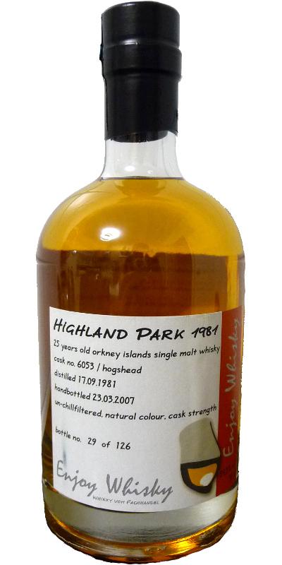 Highland Park 1981 EW