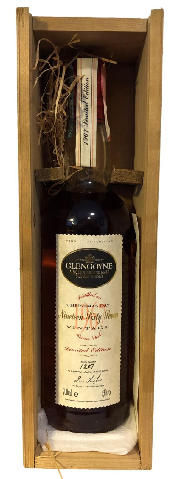 Glengoyne 1967 Vintage Reserve
