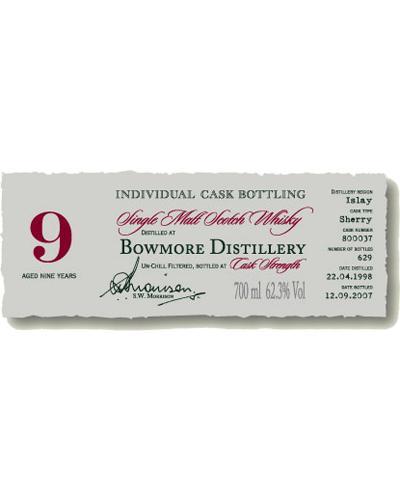 Bowmore 1998 DR