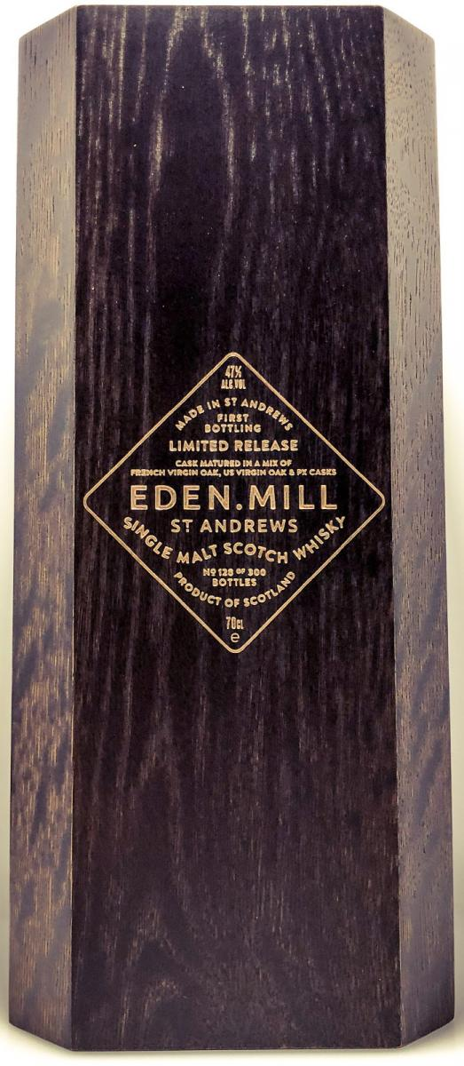 Eden Mill First Bottling
