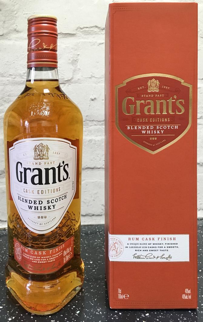 Grant's Rum Cask Finish