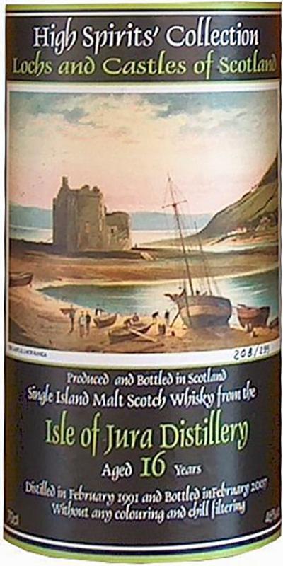 Isle of Jura 1991 HSC
