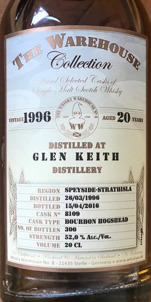 Glen Keith 1996 WW8