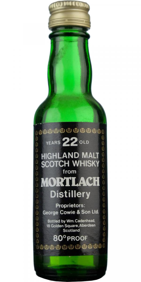 Mortlach 22-year-old CA