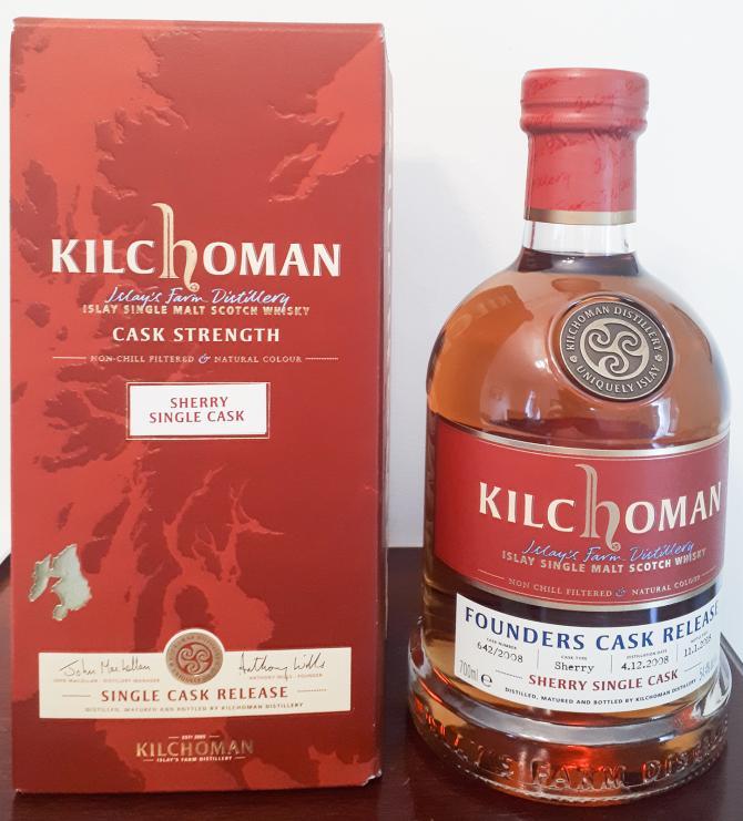 Kilchoman Founders Cask