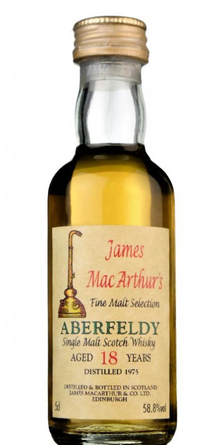 Aberfeldy 1975 JM