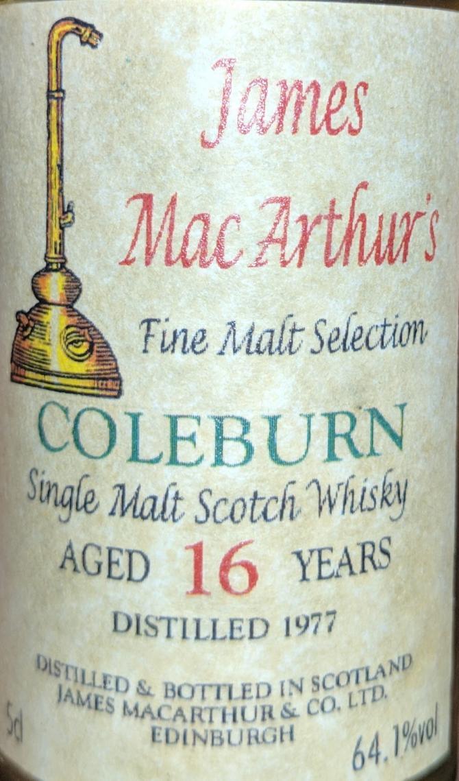 Coleburn 1977 JM