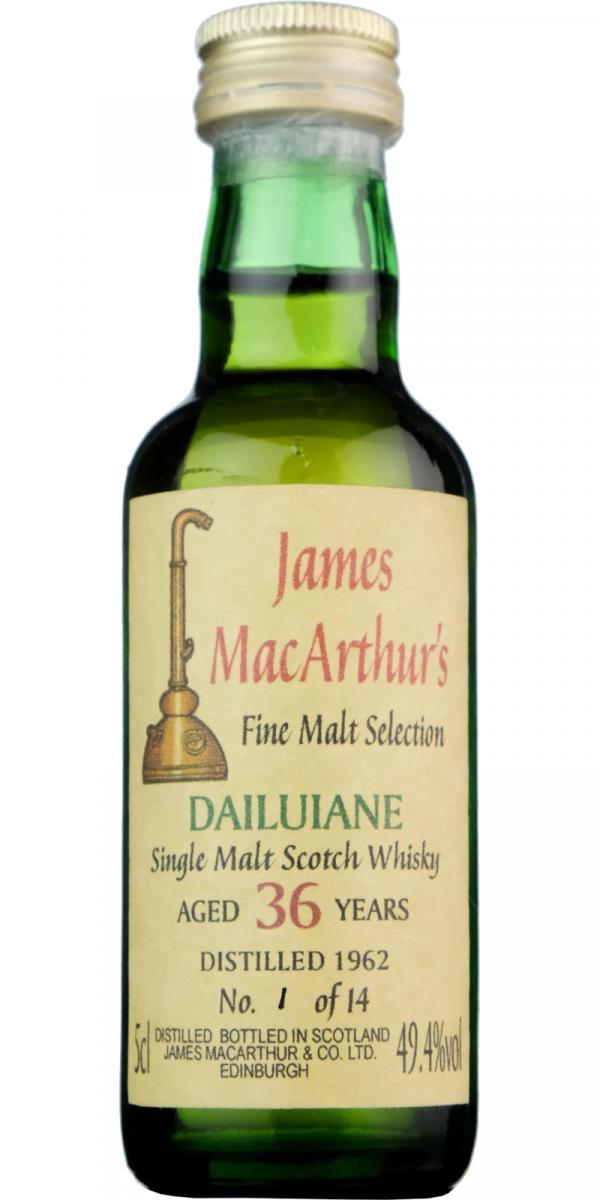 Dailuaine 1962 JM