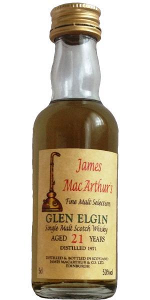 Glen Elgin 1971 JM
