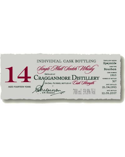 Cragganmore 1993 DR