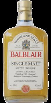 Balblair Highland Malt