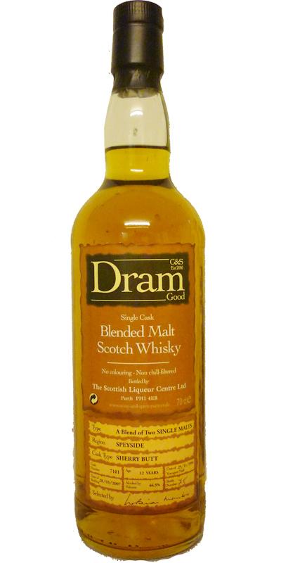Blended Malt Scotch Whisky 1994 C&S