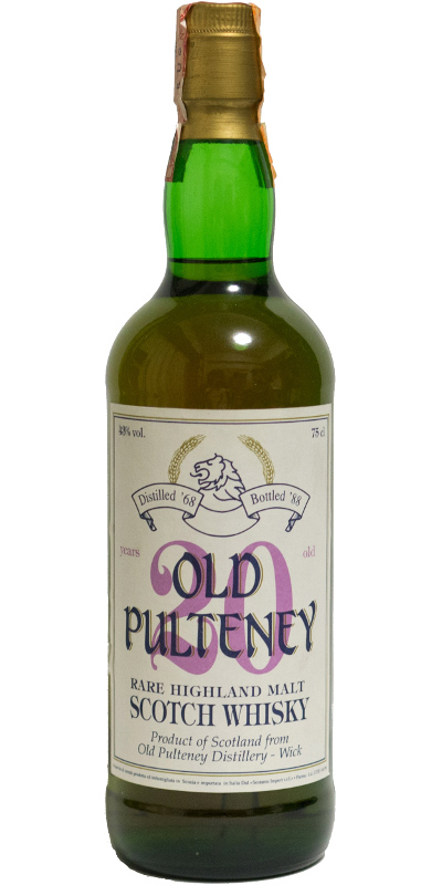 Old Pulteney 1968 GM