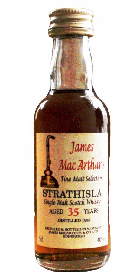 Strathisla 1958 JM