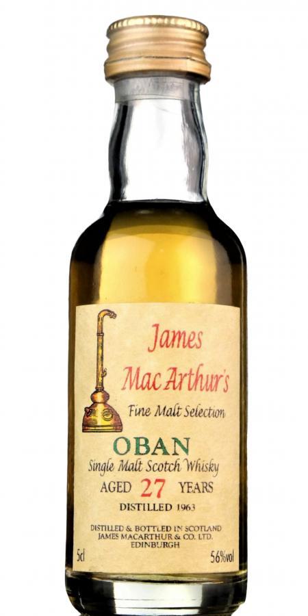 Oban 1963 JM