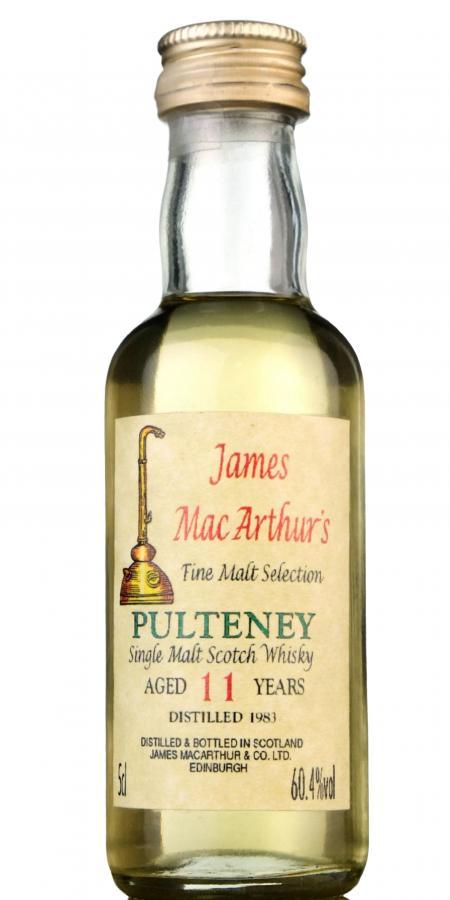Old Pulteney 1983 JM