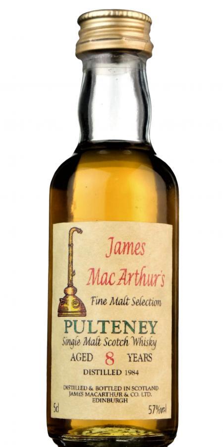 Old Pulteney 1984 JM