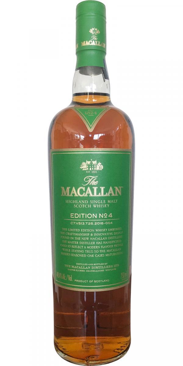 Macallan Edition No. 4