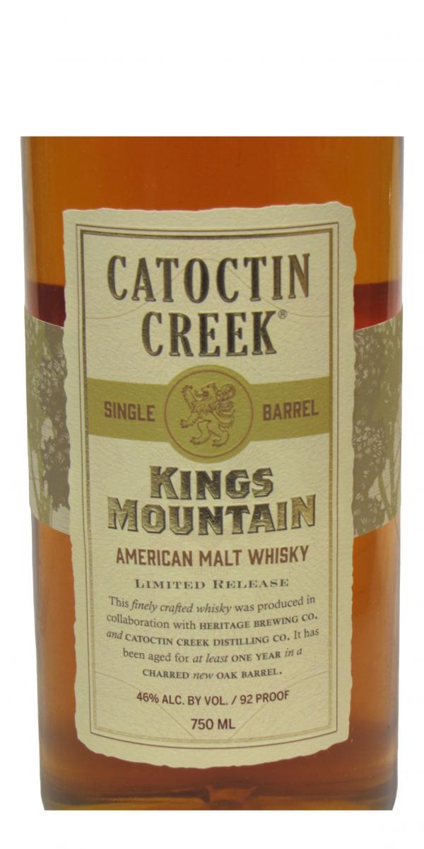 Catoctin Creek Kings Mountain