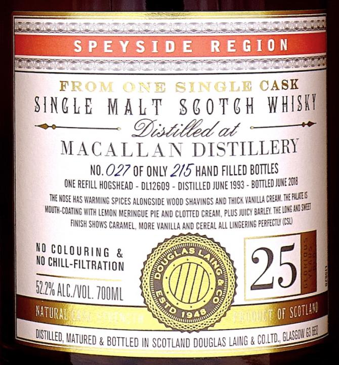 Macallan 1993 DL