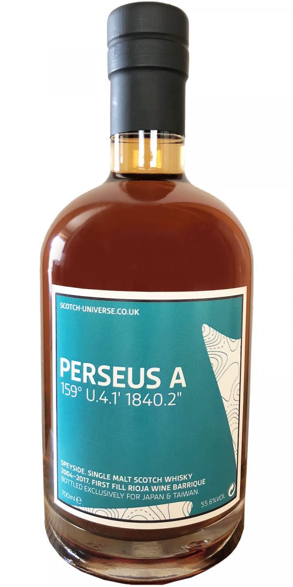Scotch Universe Perseus A - 159° U.4.1' 1840.2''