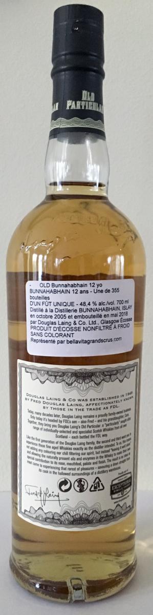 Bunnahabhain 2005 DL