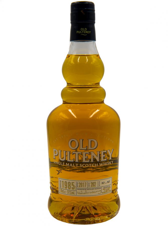 Old Pulteney 1985