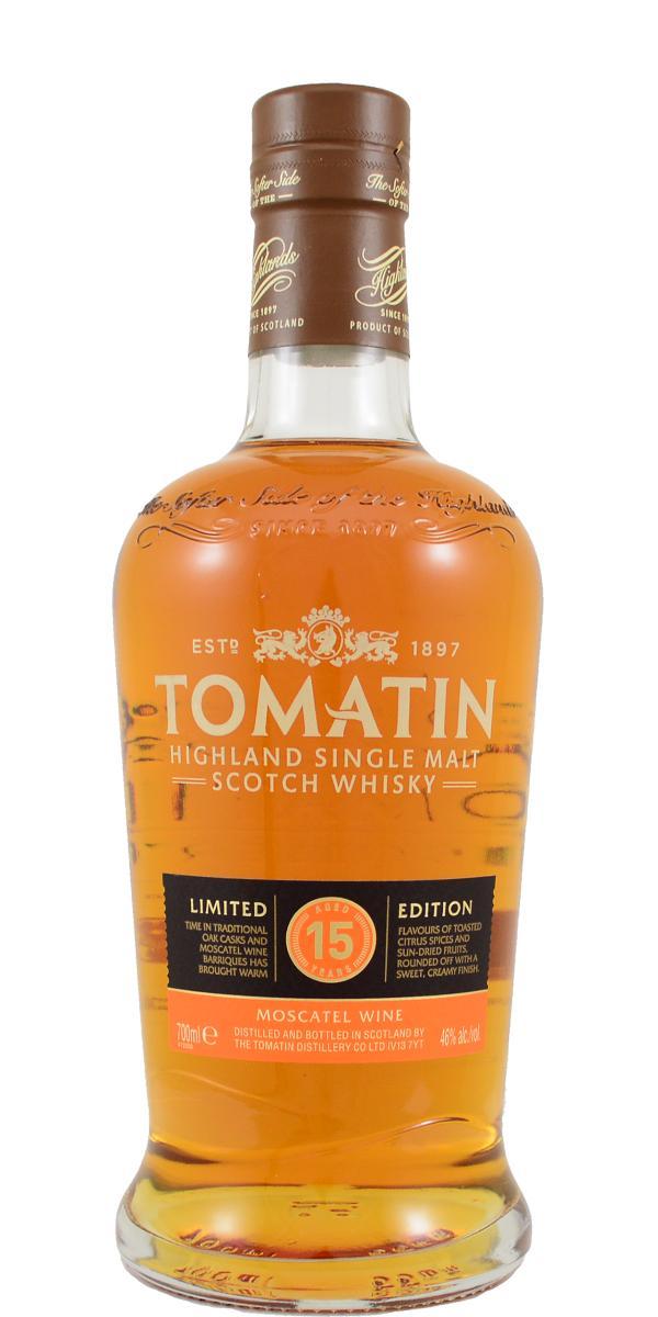 Tomatin 15-year-old