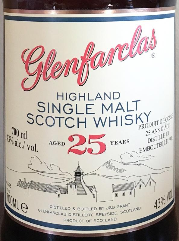 Glenfarclas 25 year-old
