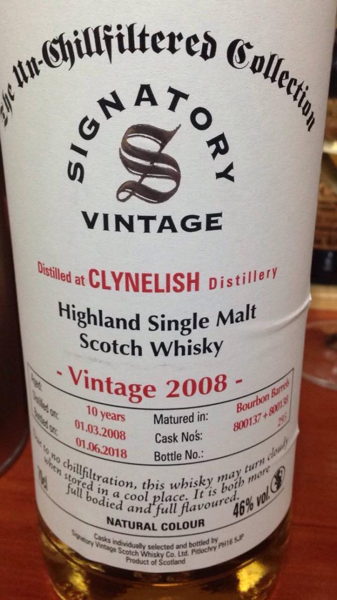 Clynelish 2008 SV