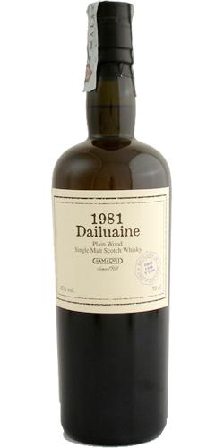 Dailuaine 1981 Sa