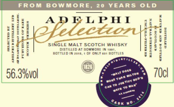 Bowmore 1997 AD