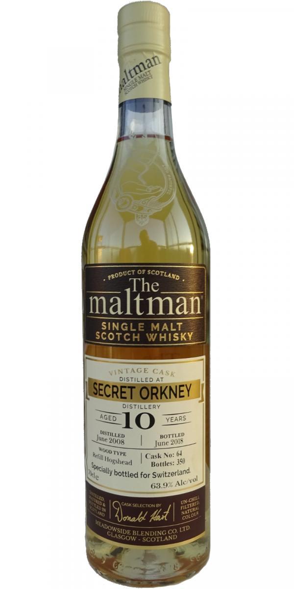 Secret Orkney Distillery 2008 MBl