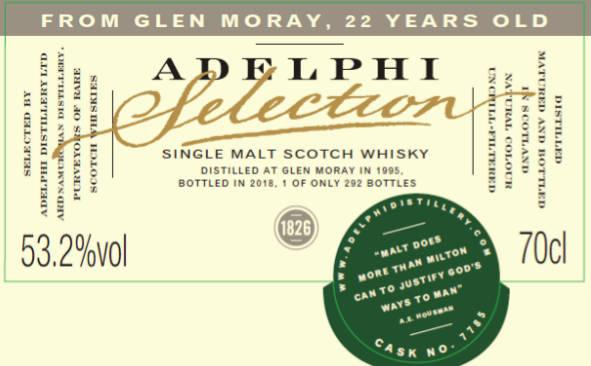 Glen Moray 1995 AD