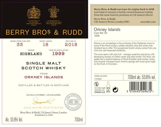 Orkney Islands 1999 BR