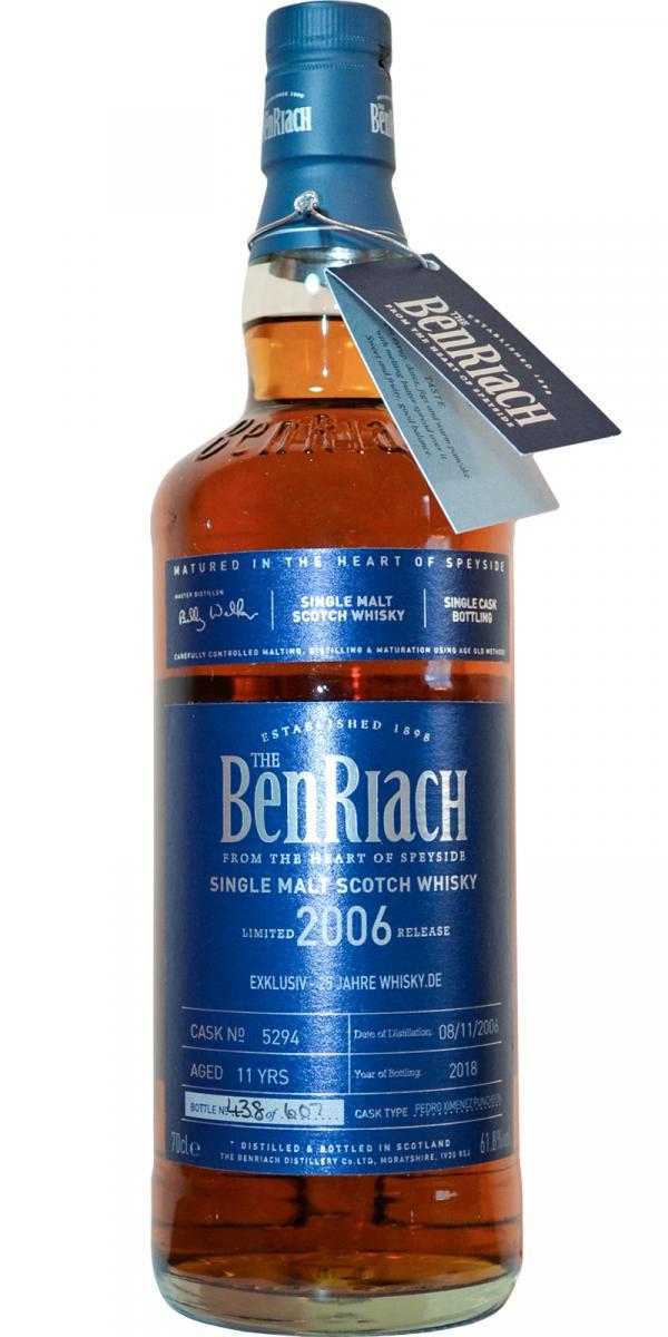 BenRiach 2006