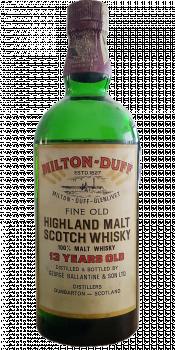 Miltonduff 13-year-old